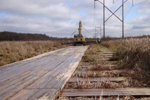 Laying Emtek Wetland Access System