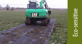 TuffTrak XL mats –eco-sensitive